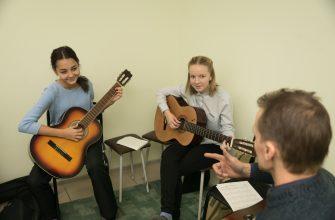 воскресная группа гитары