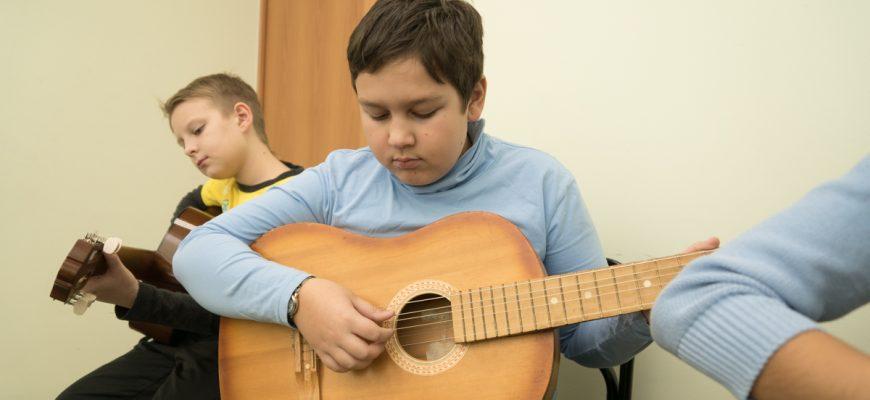 кружок гитары